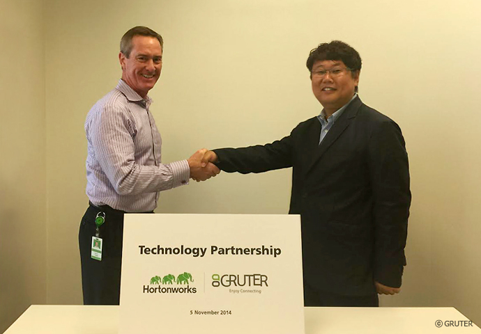 gruter_hortonworks_technology_partnership